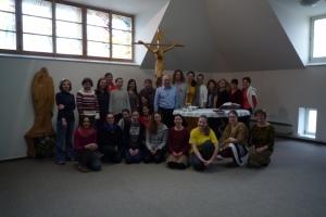 Duchovní obnova pro mladé Praha