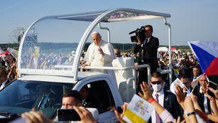 Byly jsme na Slovensku za papežem Františkem