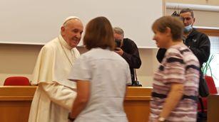 Papež překvapil salesiánky na GK!
